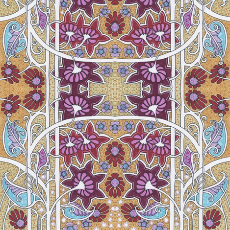 Let's Visit 1962 For a Day, OK? fabric by edsel2084 on Spoonflower - custom fabric