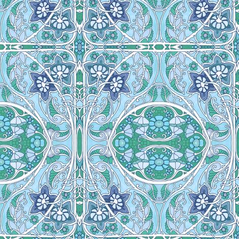 Do the Paisley Garden Twist fabric by edsel2084 on Spoonflower - custom fabric