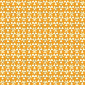 Hazard! - 1in (white\orange)