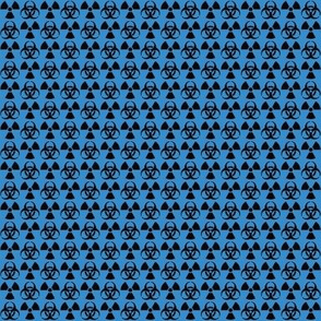 Hazard! - 1in (black\blue)