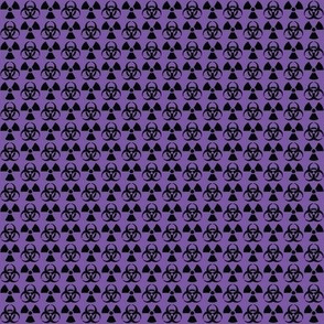 Hazard! - 1in (black\purple)