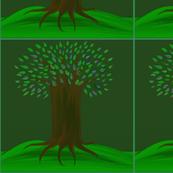 Tree on Green