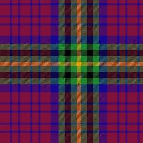 "MacGaugh tartan, 6"" muted"