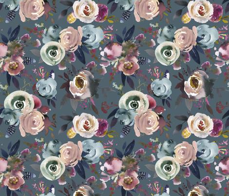 Indigo_Dusk_indigo fabric by lil'faye on Spoonflower - custom fabric