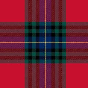 "MacLeay / Livingstone tartan, 6"" modern colors"