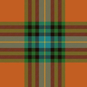 """MacLeay / Livingstone tartan, 6"""" ancient"""
