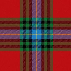 """MacLeay / Livingstone tartan, 6"""" bright"""