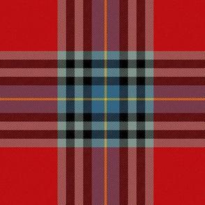 "MacLeay / Livingstone tartan, 6"" muted"