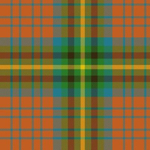 "MacGaugh tartan, 6"" ancient"