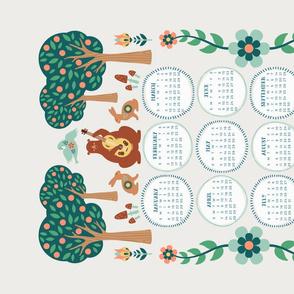 2019 Forest Folk Calendar