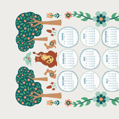 2018 Forest Folk Calendar
