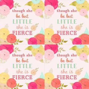 6 Loveys - Though She Be But Little She is Fierce