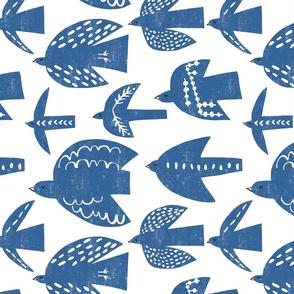 free birds (blue)