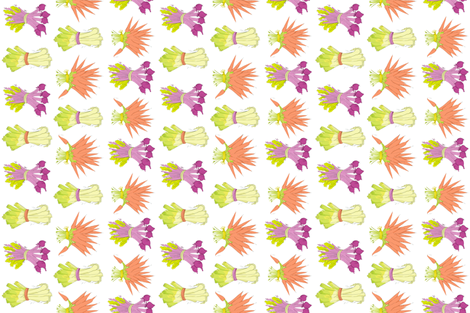 Veggies Lover  fabric by angieguarin on Spoonflower - custom fabric