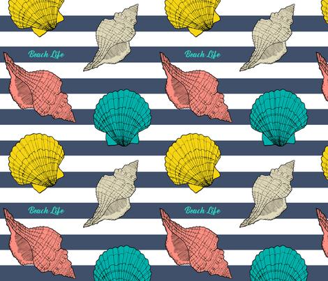 Beach_Life fabric by porshawebb on Spoonflower - custom fabric