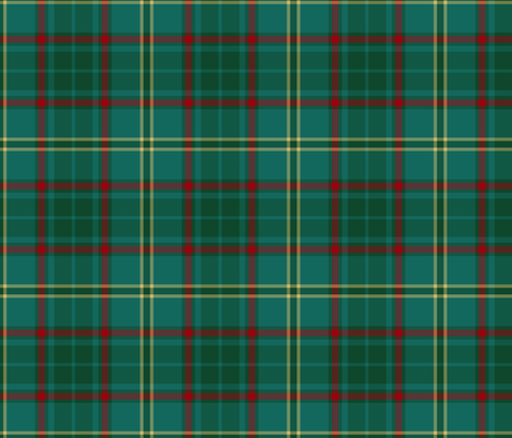 Armagh County Irish tartan fabric by weavingmajor on Spoonflower - custom fabric