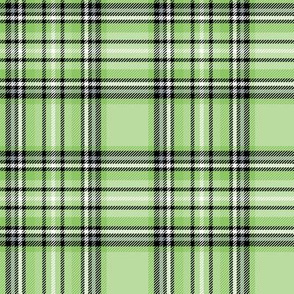 apple green tartan