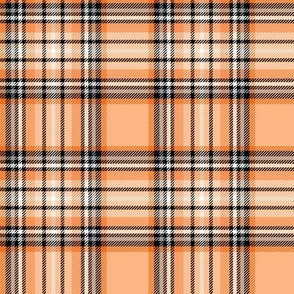 orange tartan
