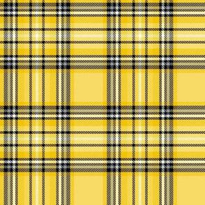 mustard yellow tartan