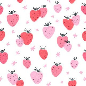 Strawberry doodle