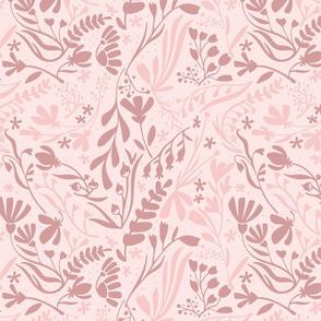 Garden in pink