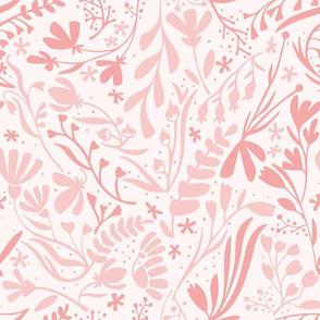 Garden in blush