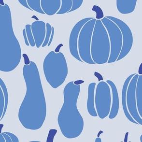 Pumpkins blue