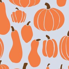 Pumpkins orange