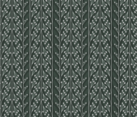 leaves fabric by krista_power on Spoonflower - custom fabric