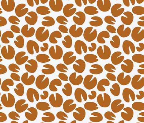 Monets lillies fabric by studio_kajsa_rolfsson on Spoonflower - custom fabric