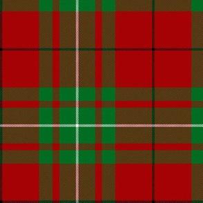 """MacAulay / MacAuley tartan  6"""" (black stripe)"""