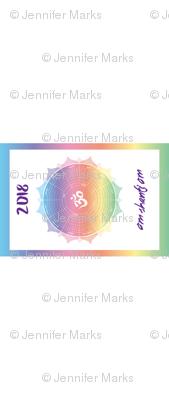2018 Mandala Calendar