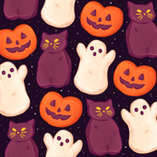 Halloween Peeps Dark