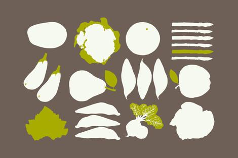 Farm to Tea Towel  fabric by lulularch on Spoonflower - custom fabric