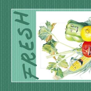Fresh Produce Tea Towel