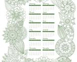 Rr2018_zentangle_calendar_-_green2_thumb