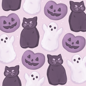 Halloween Peeps Soft Purple