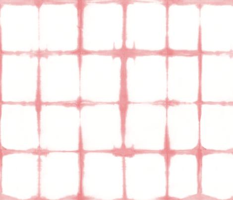 Shibori 03 Soft Flamingo fabric by theplayfulcrow on Spoonflower - custom fabric