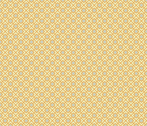 Geometric Pattern: Diamond Bracket: Orange fabric by red_wolf on Spoonflower - custom fabric