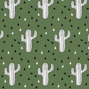cactus army green