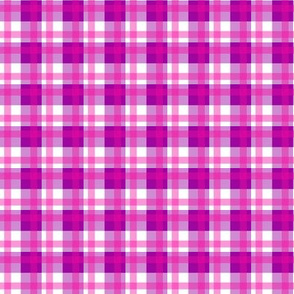 Violet Pink Plaid