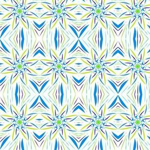 Twisting Star Trellis - Medium Scale