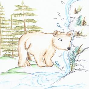 woodland baby bear