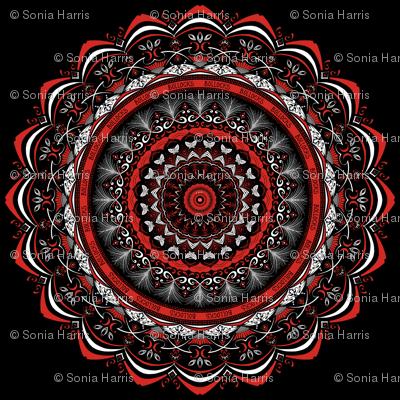 bollocks - ornate mandala