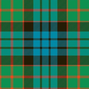 "Fletcher of Dunans tartan, 6"" ancient"