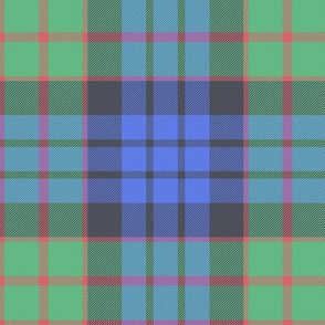 "Fletcher of Dunans tartan, 6"" faded"