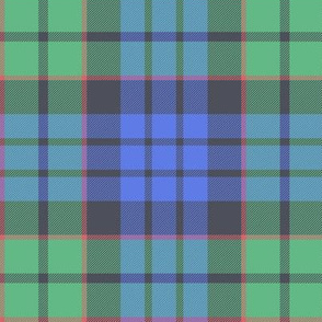 "Fletcher tartan, 6"" faded"