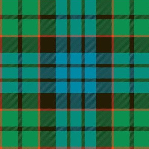 "Fletcher tartan, 6"" ancient"