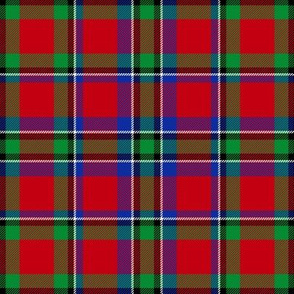 "Sinclair tartan, 6"" modern colors"