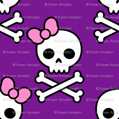 Cute Skulls Large